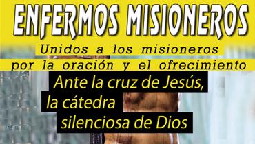 Tríptico Enfermos Misioneros (marzo-abril)