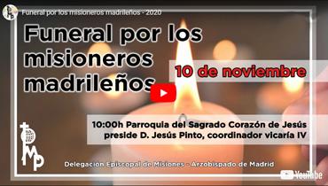 Madrid reza por sus Misioneros difuntos