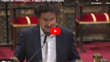 Pregón del Domund 2021, a cargo de Pepe Rodríguez
