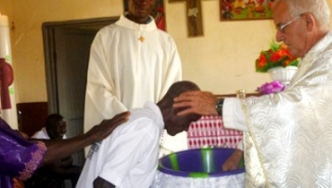 Desde Sierra Leona, ¡Feliz Pascua!
