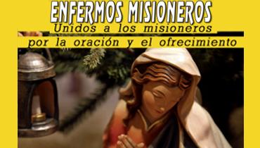 Tríptico Enfermos Misioneros