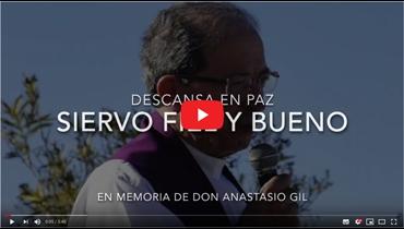 Video en memoria de d. Anastasio Gil