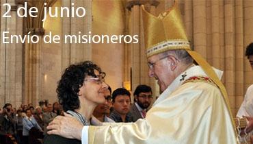 Envío de los misioneros - Madrid con sus Misioneros