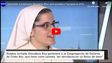 Impresionante testimonio en 13 TV, en el informativo Diocesano