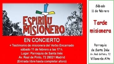 Tarde misionera en Villaverde Alto