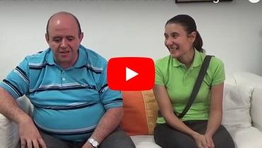 Nos visitan el Matrimonio Sara e Ignacio, tras 7 años trabajando en República Dominicana